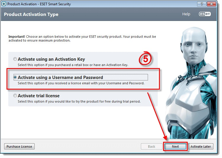 ESET Smart Security 9 license key 2018