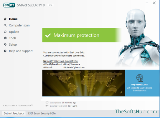 eset nod32 antivirus 11 license key 2017